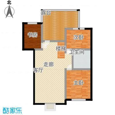 漫香林溪6号楼五层一单元501室户型3室1厅1卫