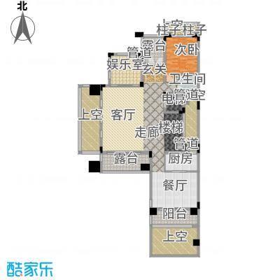 合正中央原著一层A户型1室1厅1卫1厨