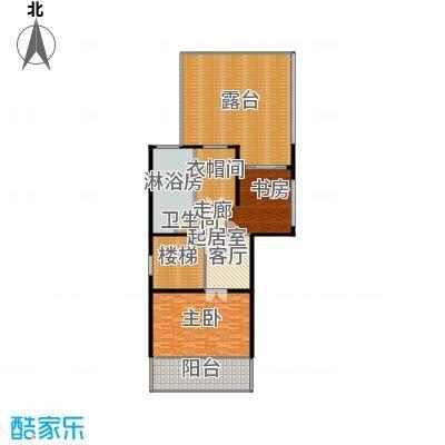 莲湖四季豪园31-37栋尊墅顶层户型2室1卫