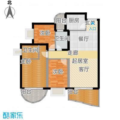 东逸翠苑户型图(4/16张)