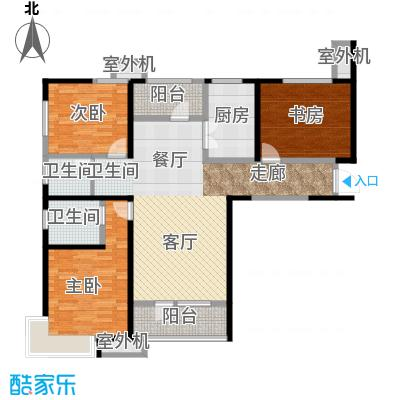 天津湾海景文苑141.00㎡A1户型2室2厅2卫