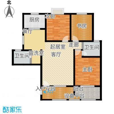 西安公馆5号楼131平米B户型