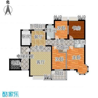 曲江唐仁里户型4室1厅2卫1厨