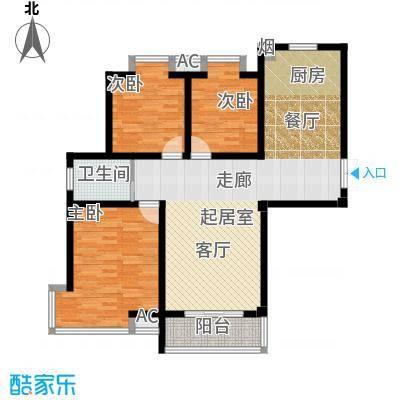 凯旋城户型3室1卫
