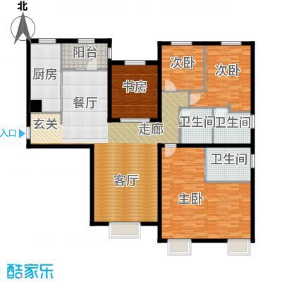 天津大都会210.00㎡五号地块 H户型4室2厅3卫
