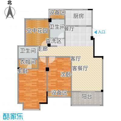 兰陵尚品兰陵尚品户型图三房二厅二卫:108㎡(13/13张)户型10室