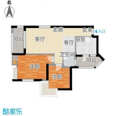 金凤豪苑80.00㎡