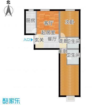 马可汇AC-3户型2室2卫1厨