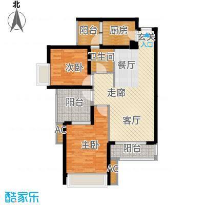 金凤豪苑86.00㎡