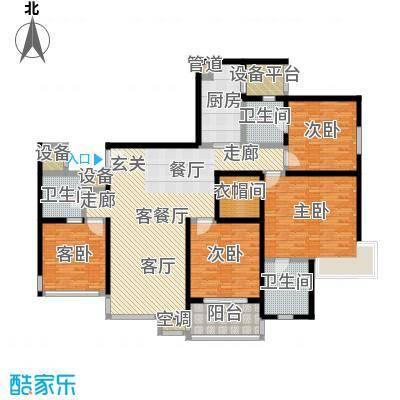 四季云顶四季云顶户型图约176㎡(2/7张)户型10室