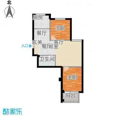 嘉恒国际74.00㎡嘉恒国际户型图(3/6张)户型10室