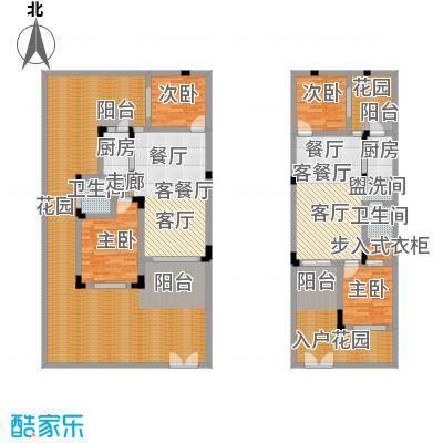 汇祥云深处38.00㎡汇祥云深处一组团B1一层中间户型2室2厅2卫1厨 38.00㎡户型2室2厅2卫