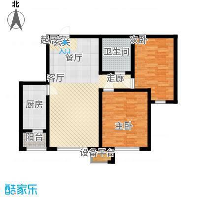 中海锦绣城91.20㎡中海锦绣城户型图F2-3(1/2张)户型10室