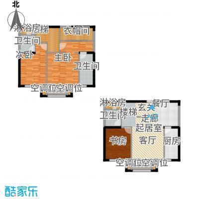 保利西山林语128.00㎡G3户型 3室2厅3卫户型3室2厅3卫