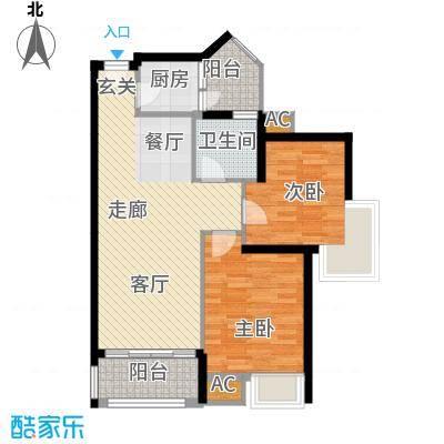 金凤豪苑77.00㎡