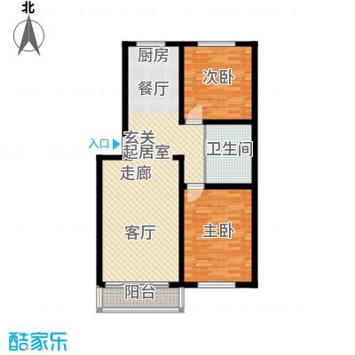 聚龙湾95.20㎡聚龙湾户型10室