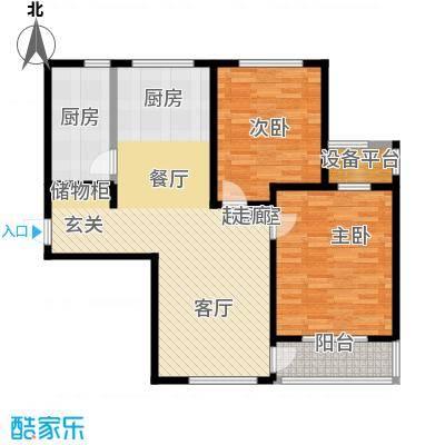 新创理想城91.63㎡新创理想城户型图A1户型(3/5张)户型10室