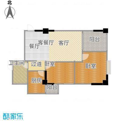 南门望城94.22㎡A-3客厅、餐厅、阳台直线连通阳台可做书房赠户型10室