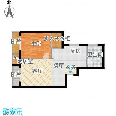 中海锦绣城68.50㎡中海锦绣城户型图F2-1(1/1张)户型10室