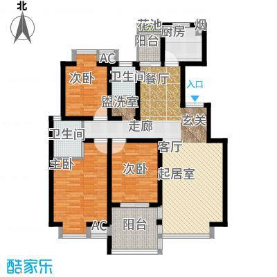 凯旋城112.00㎡凯旋城户型图126平米(7/8张)户型10室