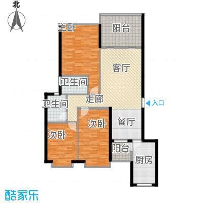 锦绣旗峰户型3室1厅2卫1厨