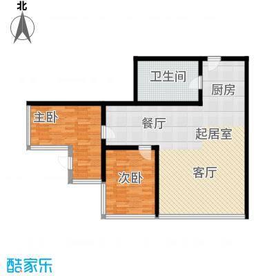 润宇国际公寓96.49㎡润宇国际公寓户型图两室两厅一卫(2/2张)户型10室