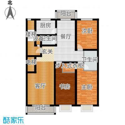 博地花园139.17㎡博地花园139.17㎡4室2厅1卫户型4室2厅1卫
