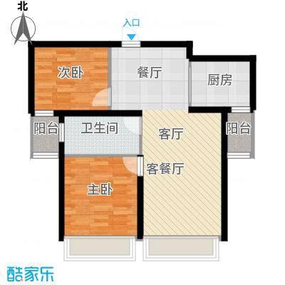 尚海华庭69.02㎡户型10室