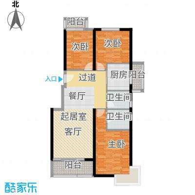 中国铁建绿港132.17㎡F户型10室