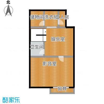 鹭岭74.58㎡9#左四户银角首层-04户型10室