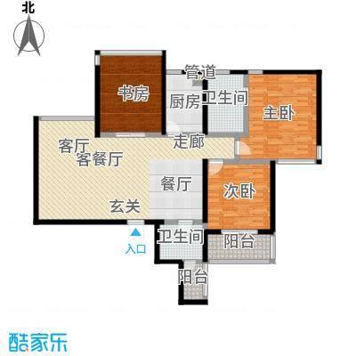 四季云顶四季云顶户型图南区136平米(5/7张)户型10室