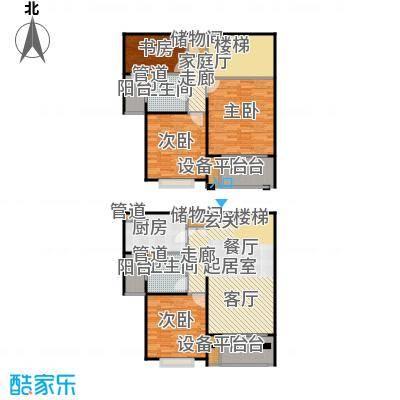 德玛公寓150.00㎡房型: 复式; 面积段: 150 -200 平方米; 户型