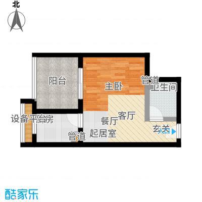 淮远古镇5、6号楼1/10号房 单间配套(带院馆)户型1室1厅1卫