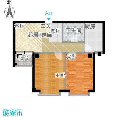 嘉恒国际64.00㎡嘉恒国际户型图(4/6张)户型10室