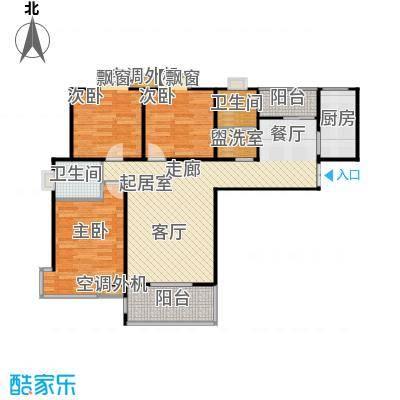 沁水新城89.00㎡沁水新城户型图LF-11B-B22室2厅1卫(5/13张)户型10室