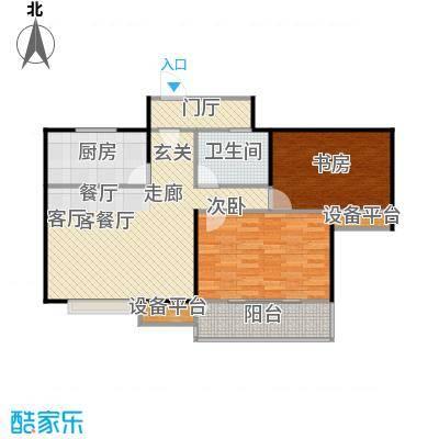 阳光福地93.25㎡二房二厅一卫-93.25平方米-27套。户型