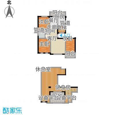 尊玉华芳211.40㎡尊玉华芳户型图(1/2张)户型10室