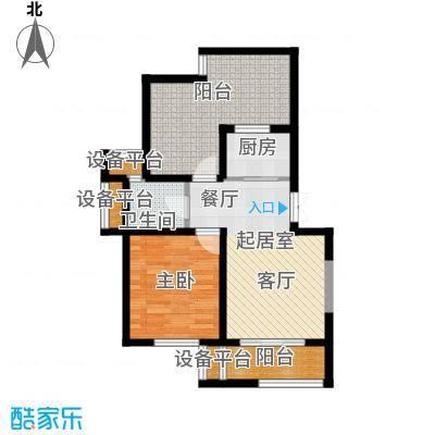 新港幸福郡65.00㎡新港幸福郡65.00㎡户型10室