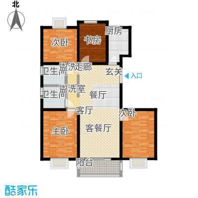 怡和花园130.00㎡怡和花园户型图141平米(1/1张)户型10室
