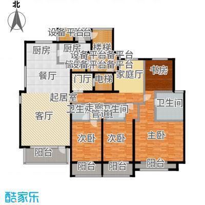 8哩岛254.00㎡8哩岛户型图D户型五室三厅三卫(2/2张)户型10室