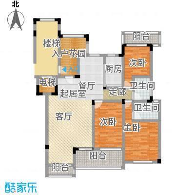 蠡湖一号138.00㎡洋房Y1f户型3室2厅2卫户型3室2厅2卫