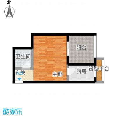 淮远古镇41.10㎡5、6号楼4/7号房 单间配套(带院馆)户型1室1厅1卫