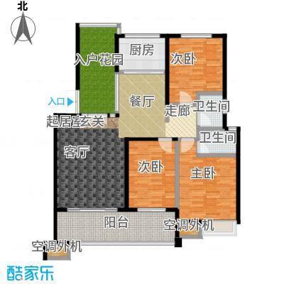 荣宏富家122.00㎡一期10、11号楼多层A2户型3室2厅2卫