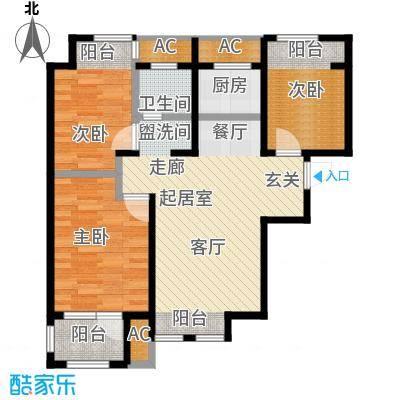 荣盛楠湖郦舍荣盛楠湖郦舍户型图(12/18张)户型10室