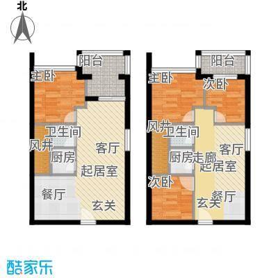 葵花里户型4室2卫2厨