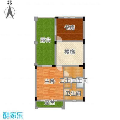 中信凯旋公馆园墅-三层户型2室3卫