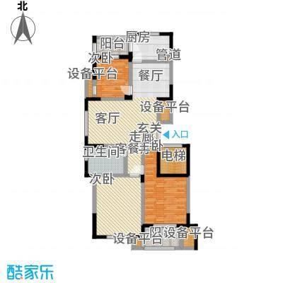 永佳苑永佳苑户型图一期M户型-三房二厅一卫-119㎡-3(20/20张)户型10室