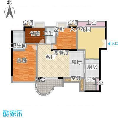 天骄峰景户型3室1厅2卫1厨