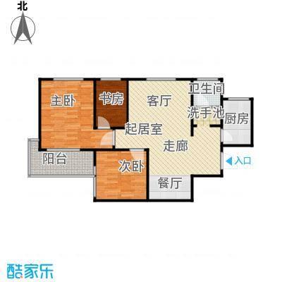 欧罗巴小镇91.88㎡B-1#、8#楼A户型3室2厅1卫