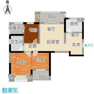 银亿海尚广场88.00㎡银亿海尚广场户型图A2(4/10张)户型10室